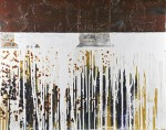 "#794 ""Two Welds (Rusted Panel Series)"""